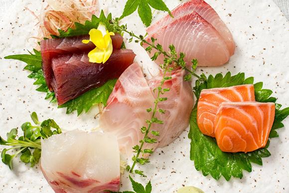自慢のお魚料理