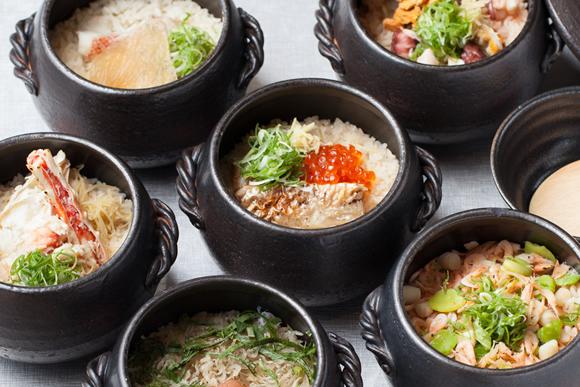 〆の一品と本格仕込みの土鍋ご飯