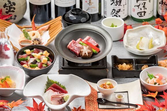 美食びしょくコース 3時間飲放題付 7,000円